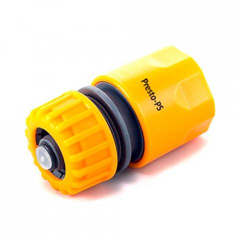 Коннектор для шланга 1/2-5/8 с аквастопом 5810