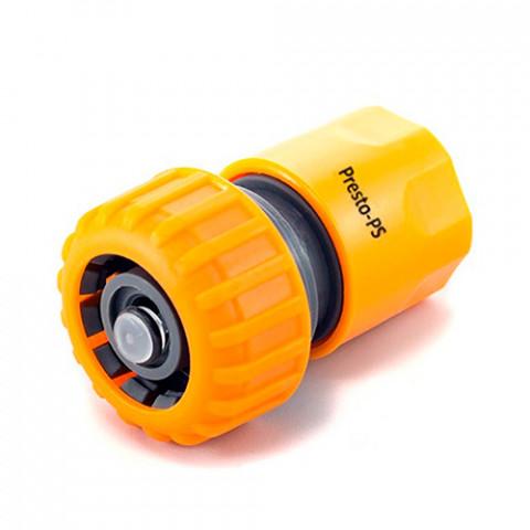 Коннектор для шланга 3/4 с аквастопом 5820
