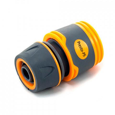 Коннектор для шланга 1/2-5/8 Soft-Touch без аквастопа 5809Е