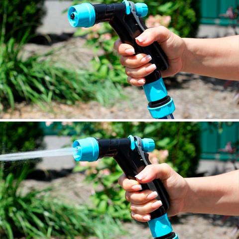 Пистолет поливочный (3 режима распыления) 7723