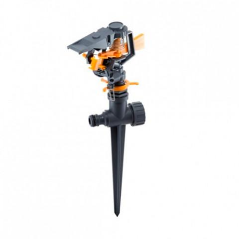 Дождеватель ороситель импульсный для газона на ножке  8103D