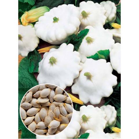 Патиссон Белый Диск (семена) 100 г