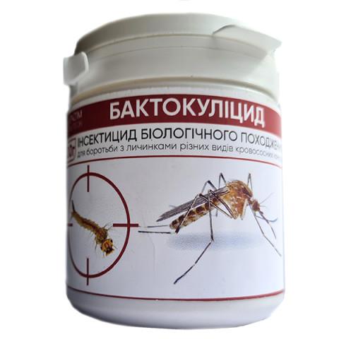 Инсектицид от комаров Бактокулицид 100 г