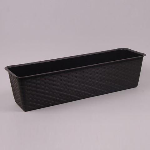 Балконний ящик Ratolla Case коричневий 40 см