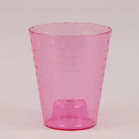 Горщик пластмасовий для орхідей Diament Petit рожевий 13 см