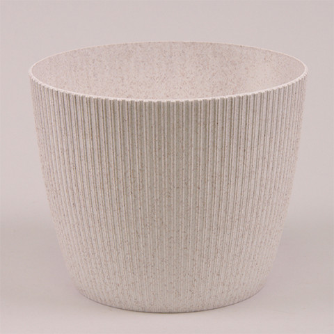 Горшок пластмассовый Магнолия Jumper ECO белый 14 см