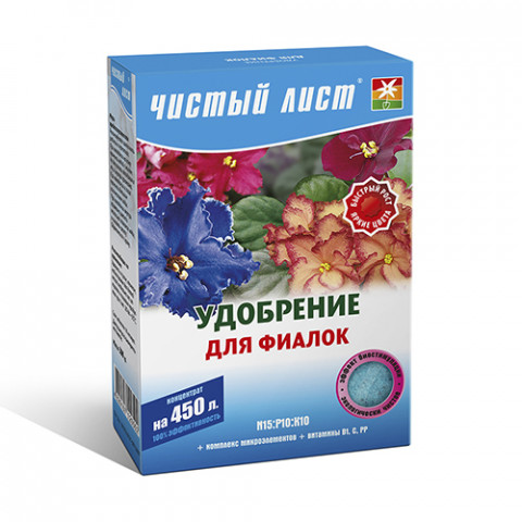 Чистый Лист АКВА для фиалок 300 гр