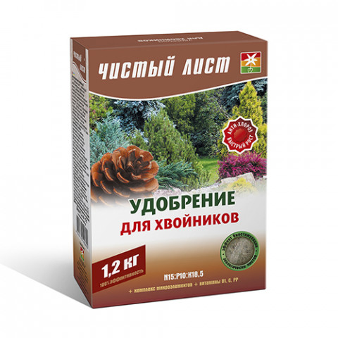 Чистый Лист АКВА для хвойников 1.2 кг