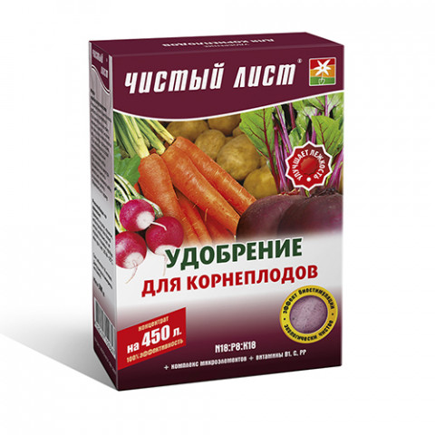 Чистый Лист АКВА для корнеплодов 300 гр