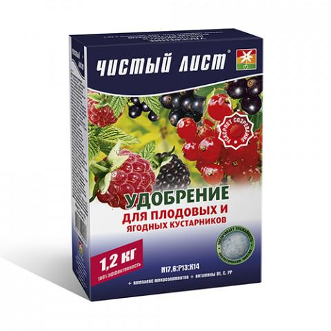 Чистий Лист АКВА для плодових та ягідних кущів 1.2 кг