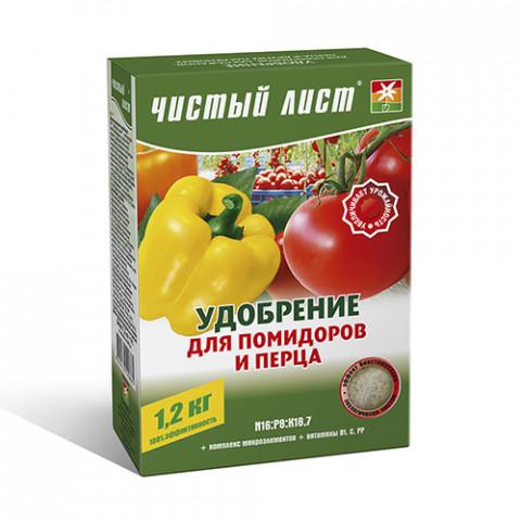 Чистый Лист АКВА для помидоров и перца 1.2 кг