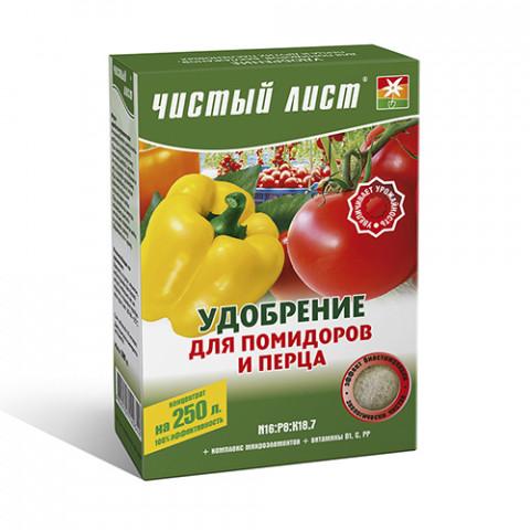 Чистый Лист АКВА для помидоров и перца 300 гр