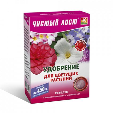 Чистый Лист АКВА для цветущих 300 гр