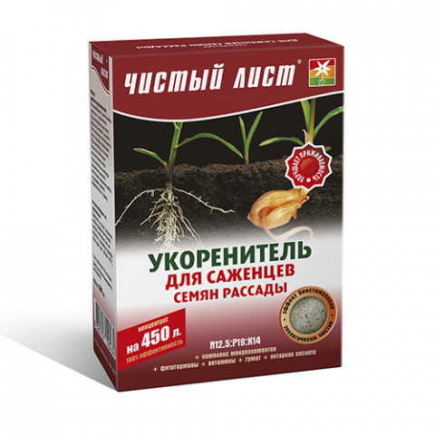 Чистий Лист АКВА укорінювач 300 гр