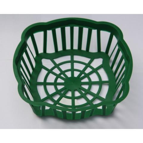 Корзинка для луковиц овальная диаметр 20х6 см