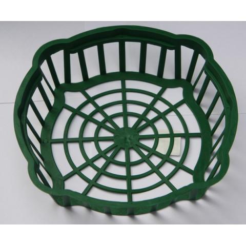 Корзинка для луковиц овальная диаметр 25х6 см