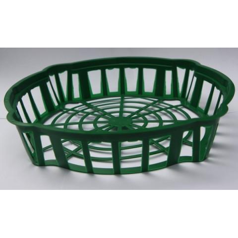 Корзинка для луковиц овальная диаметр 30х6 см