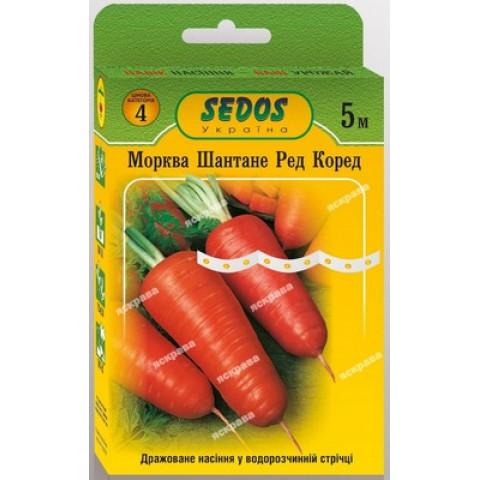 Морковь Шантане Ред Коред на ленте 5 м