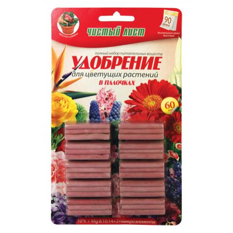 Палички Чистий Лист для квітучих 60 шт