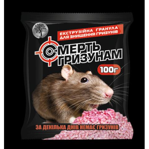 Смерть грызунам экструзийные гранулы 100 гр