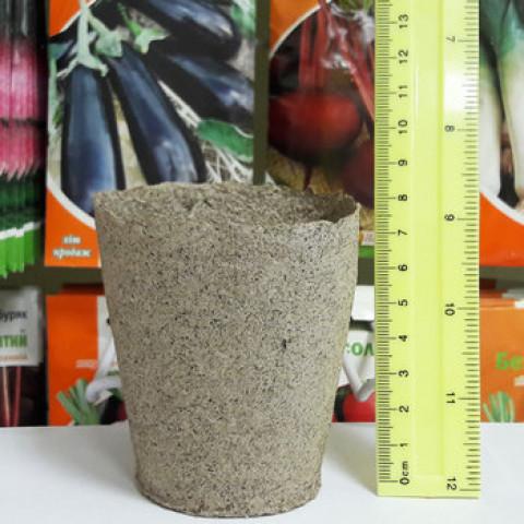 Торфяной горшок 8*8 см