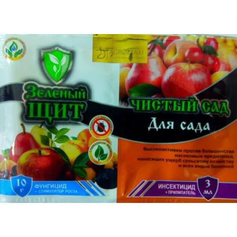 Зеленый щит Чистый сад для фруктовых деревьев 3 мл + 10 гр